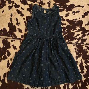 GAP | Girls Jean Dress with Stars